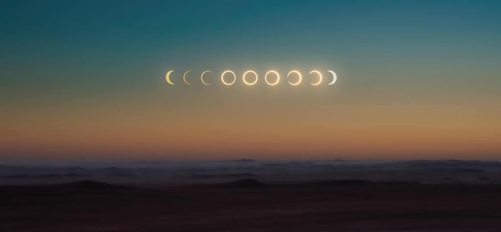 Los dos últimos eclipses del 2020