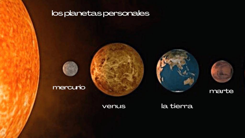 los planetas personales